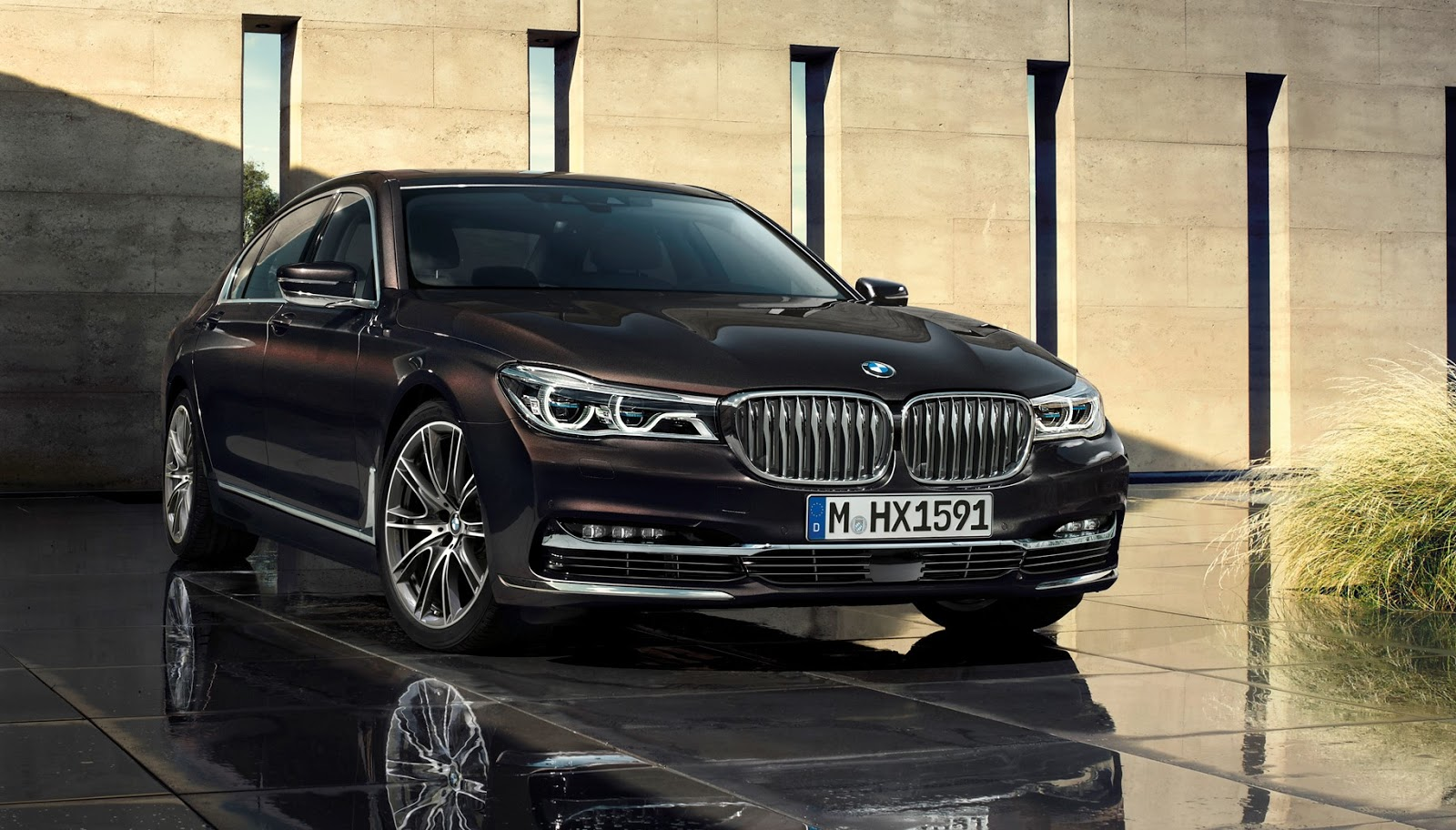 1 2016 bmw 7 series refined revamped restyled and advanced auto review. Black Bedroom Furniture Sets. Home Design Ideas