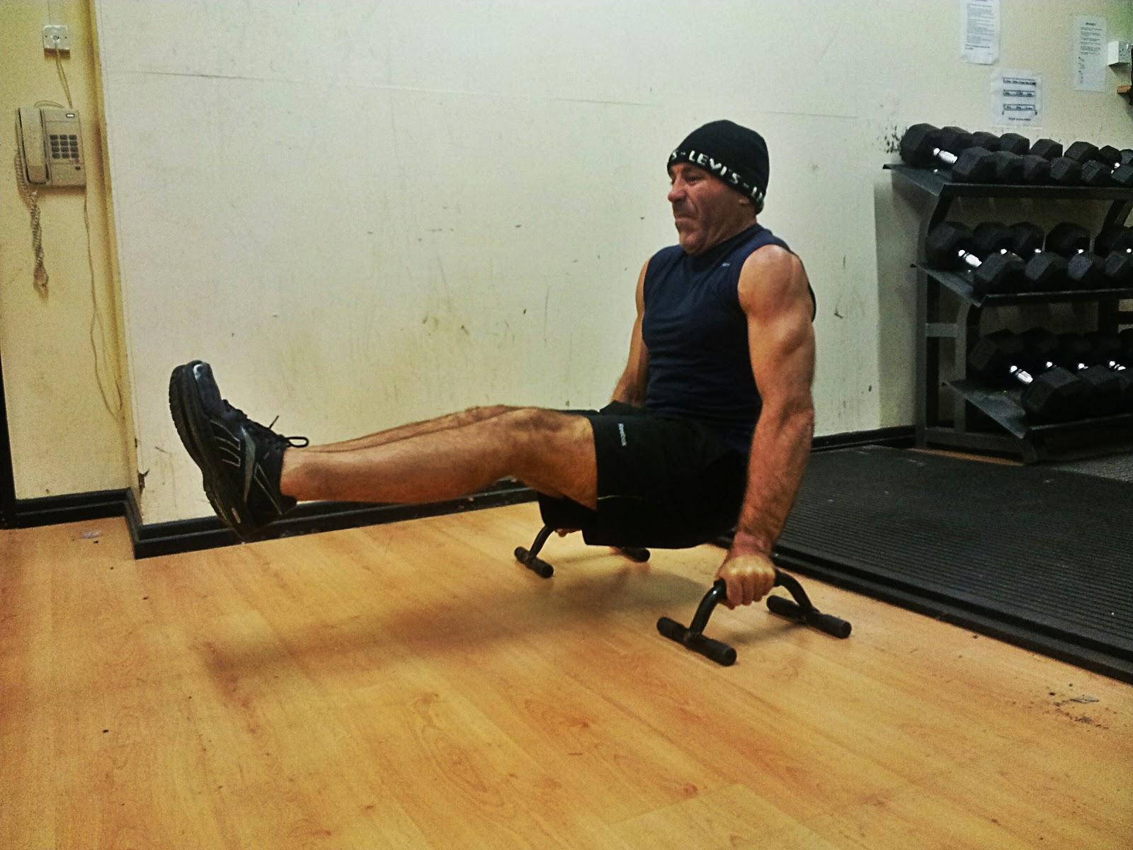 Fitness 666: Floor L-sits