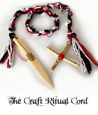 The Craft Ritual Cord with Rowan Athame