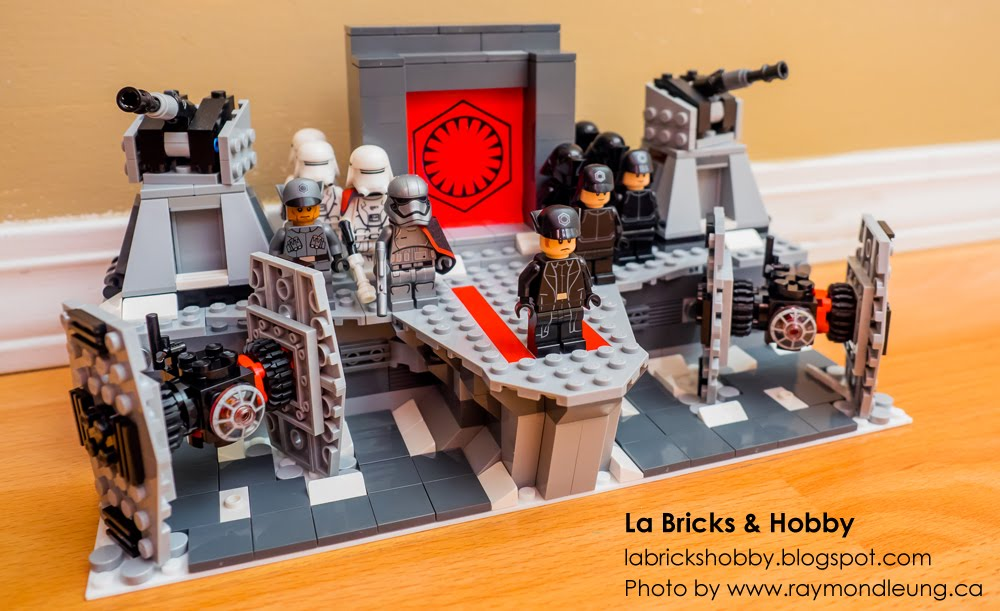 La Bricks & Hobby: LEGO Star Wars First Order General Hux Speech ...