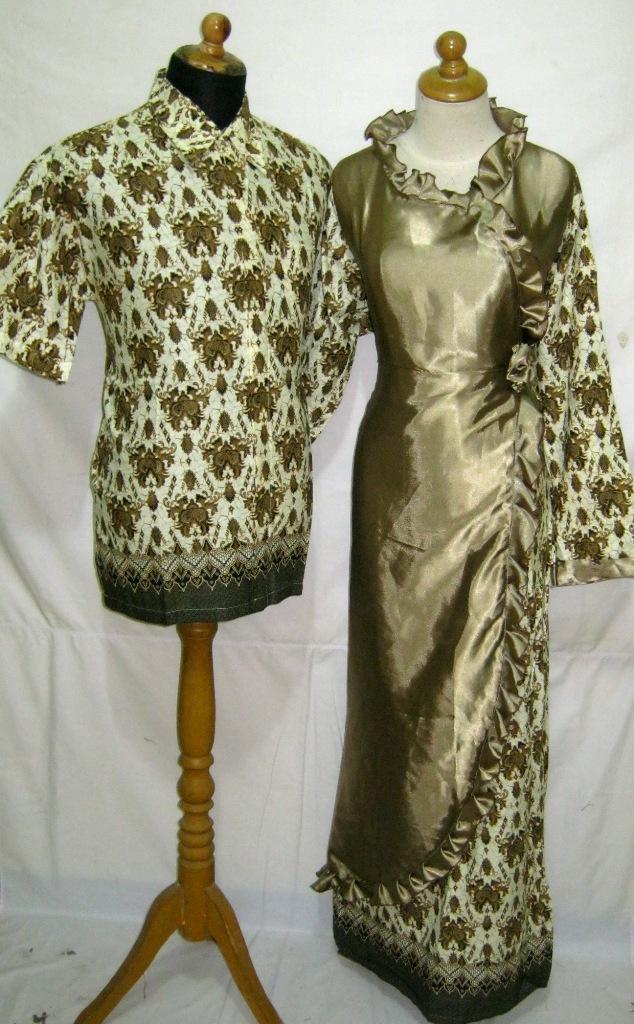 Batik Gaun Ll194 Cs Fashionshop