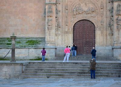 Escaleras Plaza de Anaya
