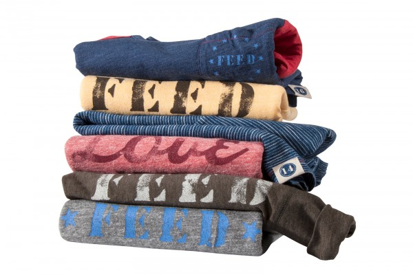 FEED USA + Target men's tees