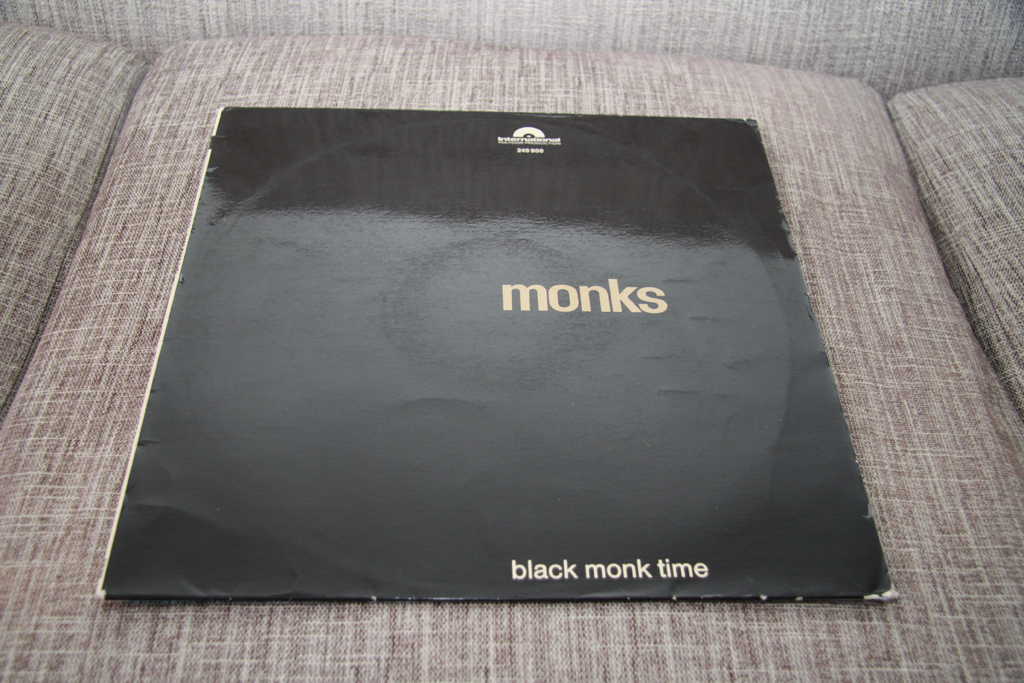 Vinyl Stockholm Monks Black Monk Time 1st Press 1966