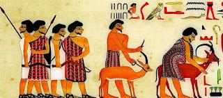 شرح منظر مِن مقبرة غِنمو حُتِب الثاني الذي يُعرَف خطأ بإسم خنوم حُتب الثاني