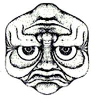 Sad and Happy Face Optical Illusion