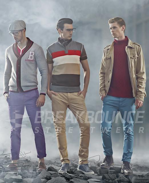 Breakbounce Streetwear Autumn Winter '13 Collection