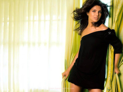 Priyanka Chopra Spicy Wallpaper for Agneepath Movie Bollywood