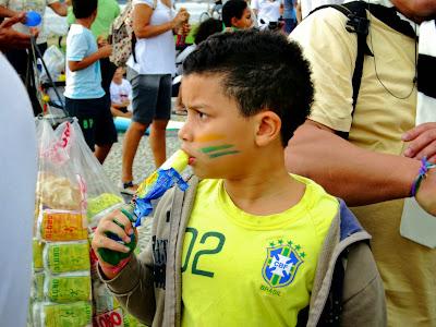 Protesto das Crianças, Aterro do Flamengo, Rio de Janeiro.