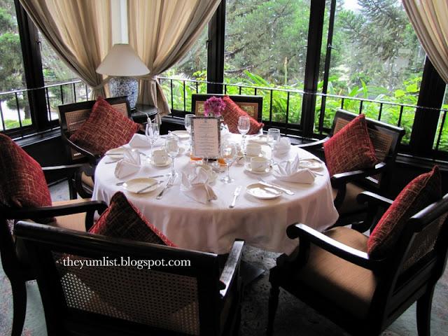 The Dining Room, Cameron Highlands Resort, Malaysia