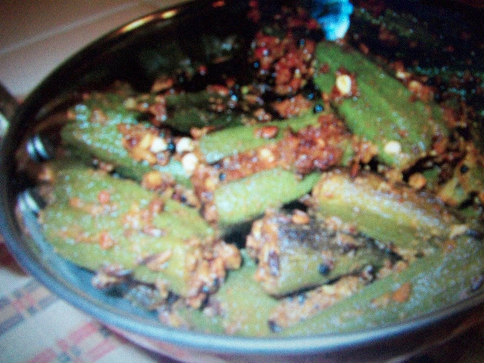 Spicy Bhindi Masala Bhindi