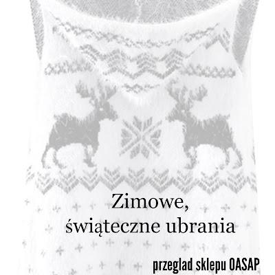 Zimowe, świąteczne ubrania