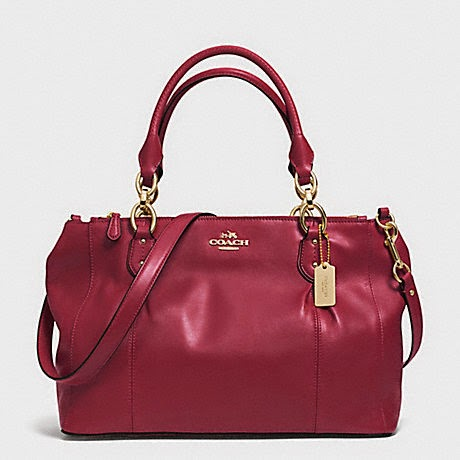 COACH Collette Leather Carryall 33447