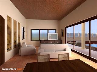 desain rumah: dekorasi ruang tamu minimalis modern 2012