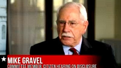 Former Sen. Mike Gravel says White House Suppressing Evidence of ETs 5-3-13
