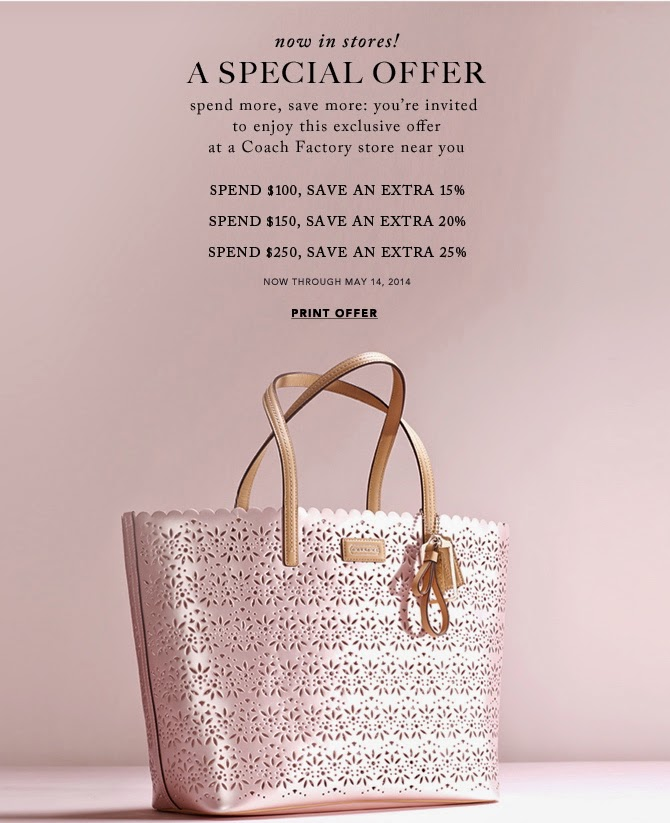 Coach Printable Coupon