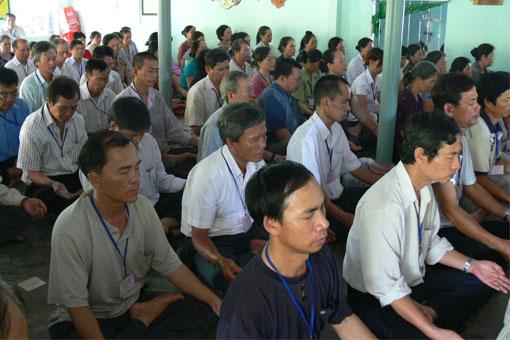 Học viên lớp Nâng cao Bậc III, tháng 4 năm 2012  -  Ảnh: Nhật Minh.