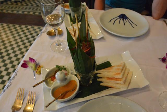 Blue Elephant Restaurant Phuket sate