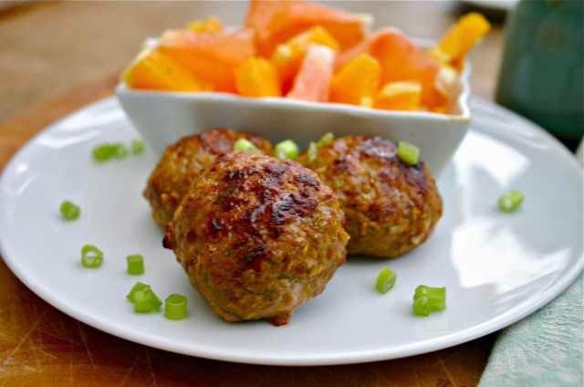 Apple, Leek & Bacon Breakfast Sausage #Paleo #Recipe