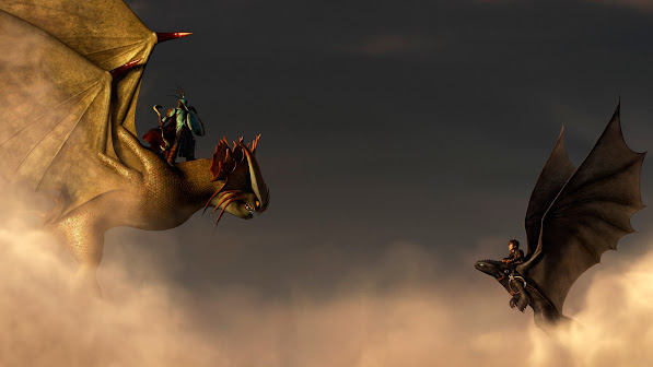 valka , stormjumper stormcutter and hiccup , toothless night fury how to train your dragon 2 movie