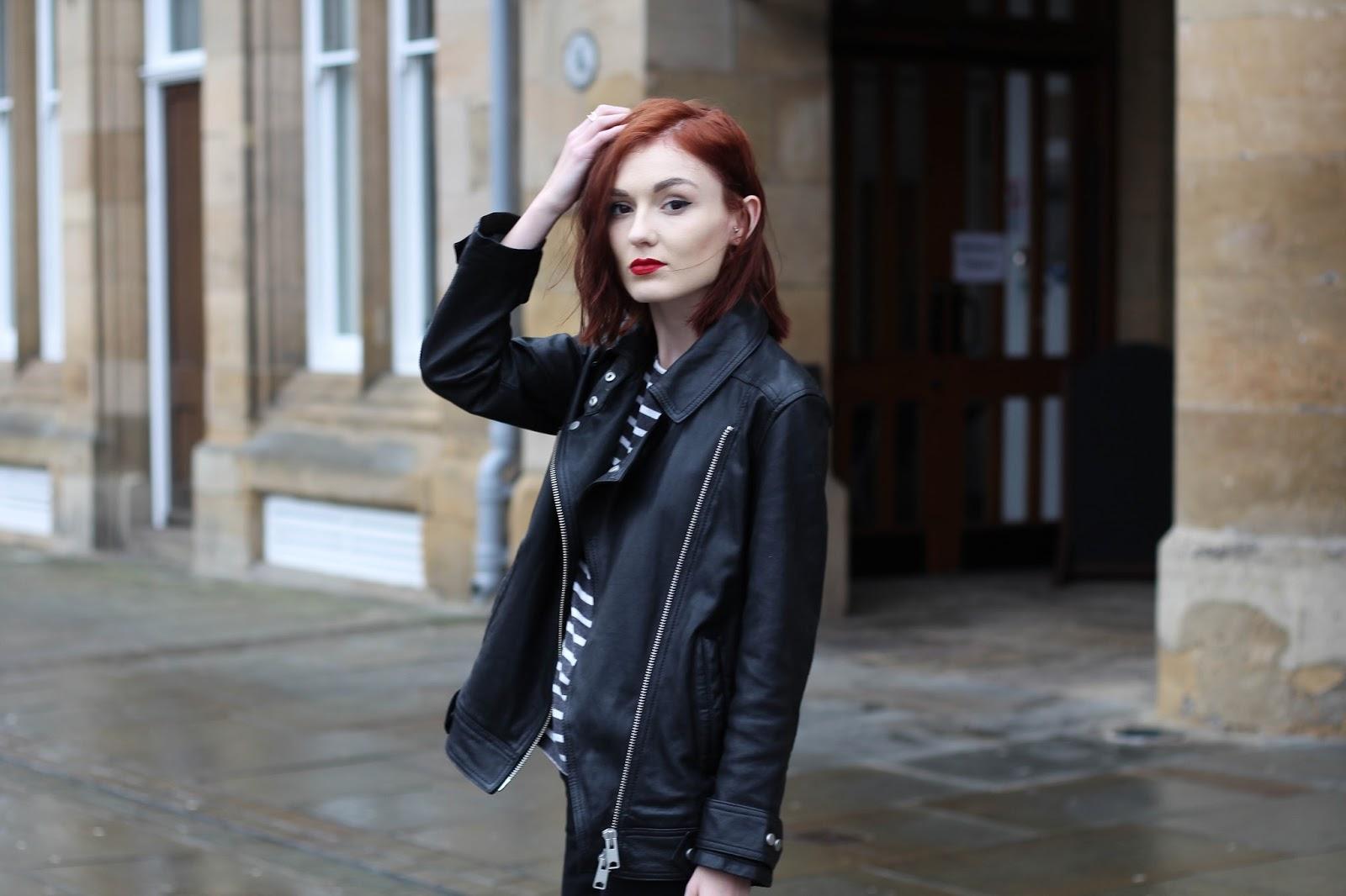 Leather jacket karachi - Allsaints Leather Jacket