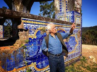 Ziraldo e a luta da Amagg pela restauração do Mirante da Granja Guarani em Teresópolis