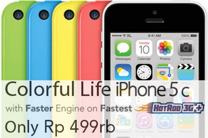 Paket iPhone 5C Bundling XL