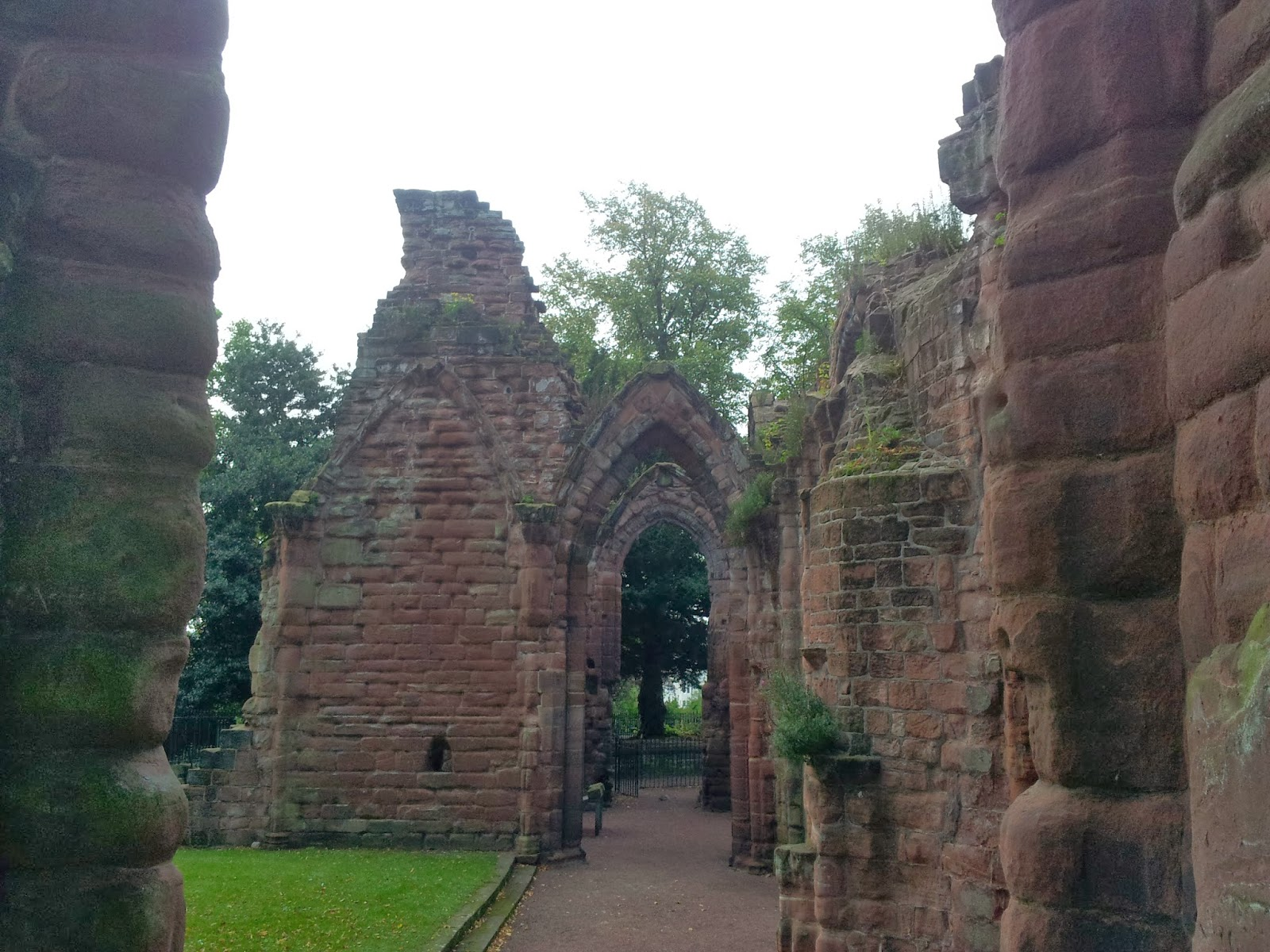 Ruinds of St John's church, Chester, England