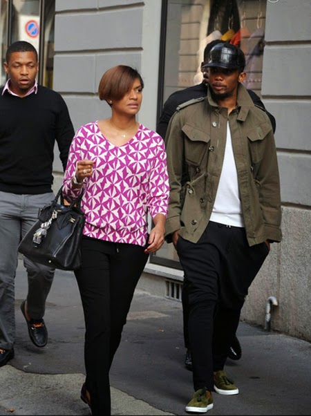 Samuel Eto'o and Georgette Wedding In Pictures