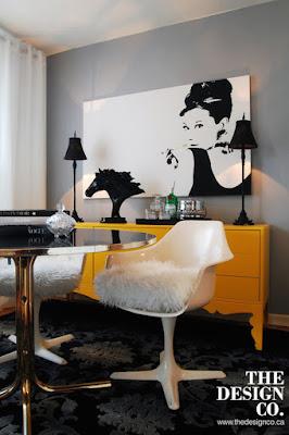 Audrey Hepburn Interior design