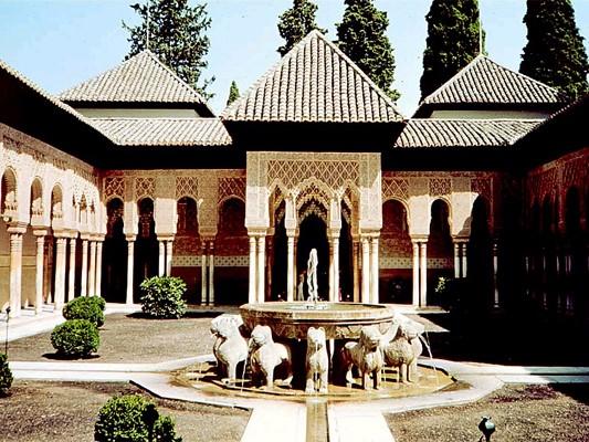 Proyecto paul bierwirth la alhambra y los querreros de for Patios de granada