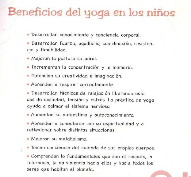Escuela de familias: Yoga para niños