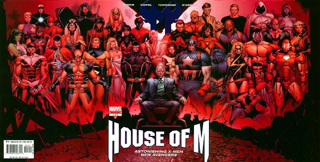 Decimation Marvel Comics