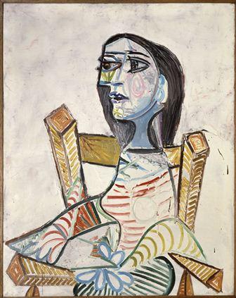 Retrato de una mujer_Picasso_Fundacion Mapfre