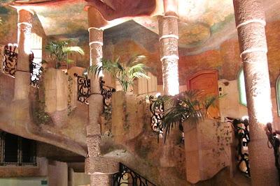 Staircase of La Pedrera