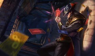 Twisted Fate, the Card Master