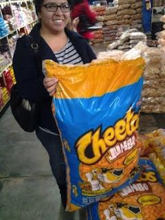 Cheetos gigantes.
