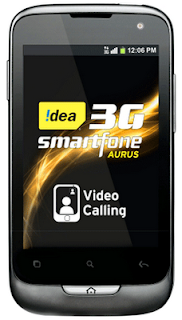 Idea Aurus dual SIM 3G Android smart phone