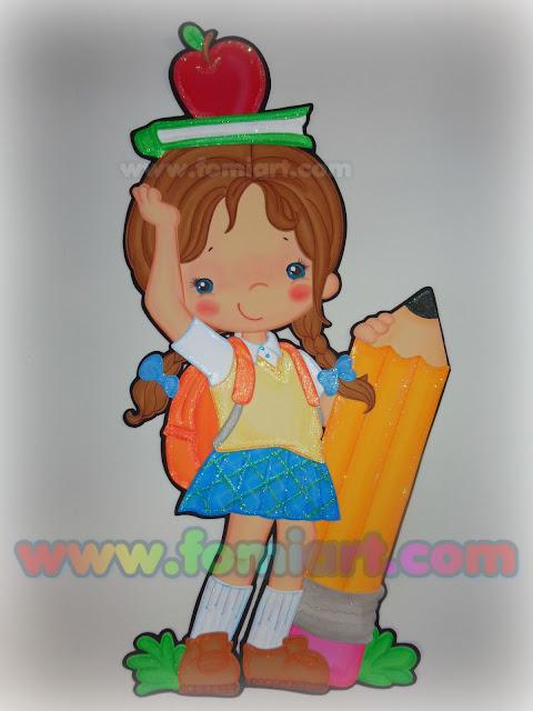 decoraciones en foamy, fomi o goma eva
