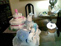 Triciclo y Torta de Pañales