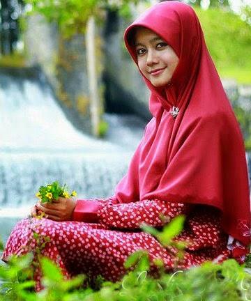 Foto Muslimah Cantik Banget
