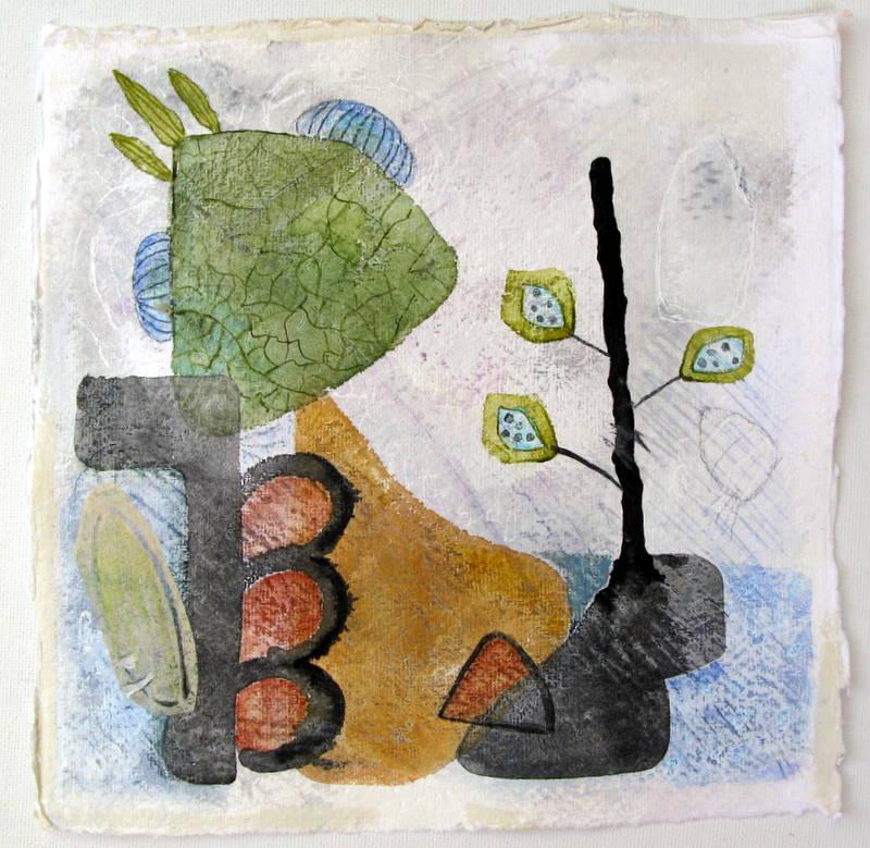 Elizabeth Terhune-伊麗莎白· 特休恩-美籍女藝術家 美麗引人的抽象繪畫 (二)。。。 - milk  - ☆ Milk ☆ 平平。淡淡。也是真。