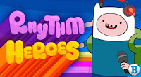 Adventure Time game online: Rhythm Heroes