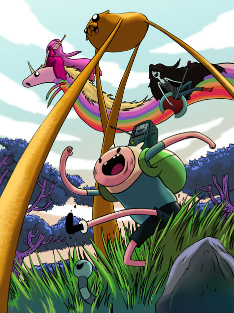 Adventure Time por dragonalth