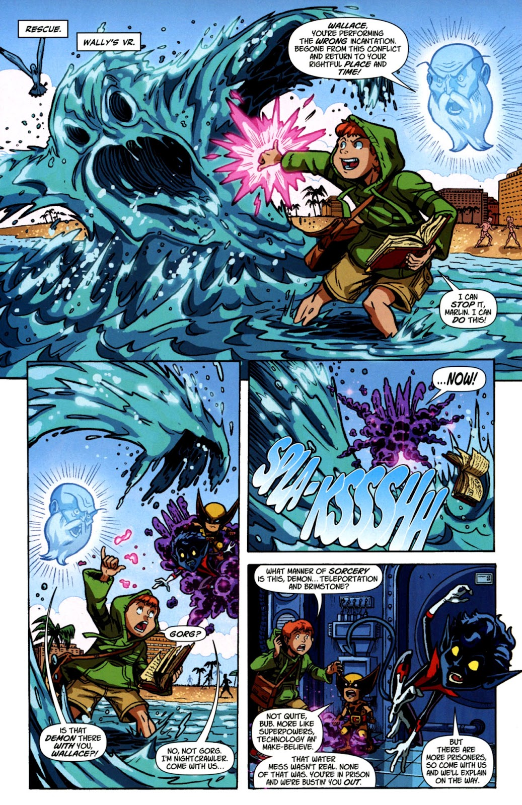Read online X-Babies comic -  Issue #3 - 14