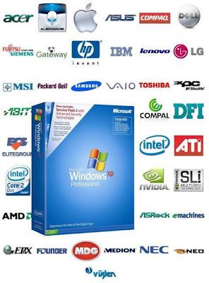 Windows XP SP3 con Driver Sata 2016 más programa para bootear