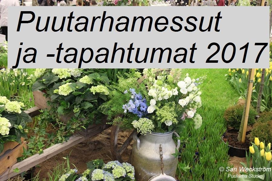 Lista puutarhamessuista ja -tapahtumista