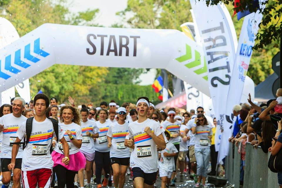 Invitaţie la The Color Run 2015. Un eveniment inedit de alergare. Start
