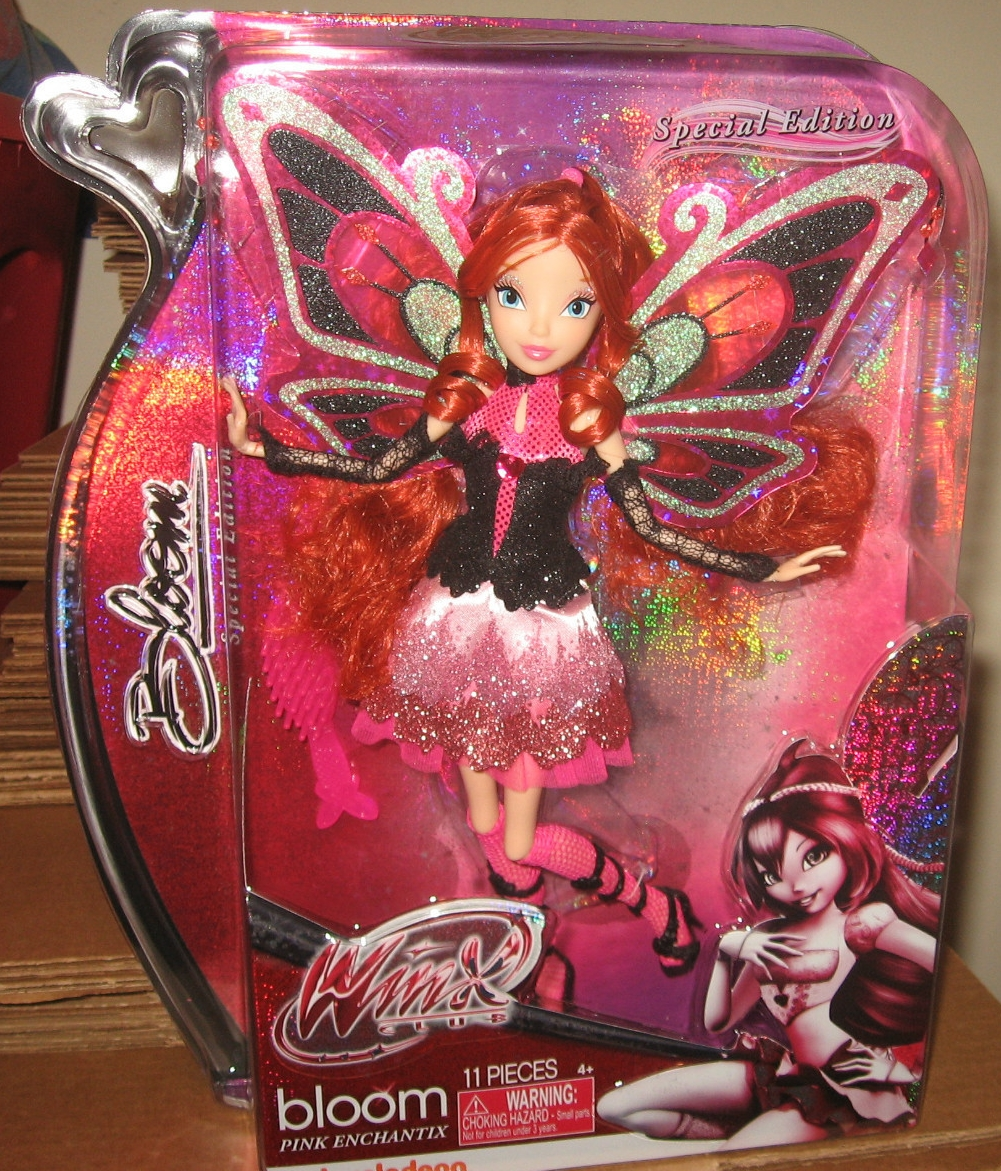 Winx Club Loly    Nuevas im  genes de la mu  eca Bloom Pink Enchantix