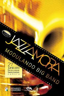 JazZamora 2013. Cartel